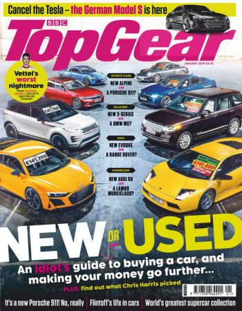 BBC Top Gear UK – January 2019