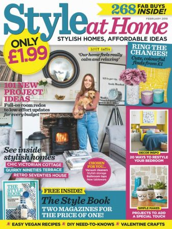 Style at Home UK – February 2019