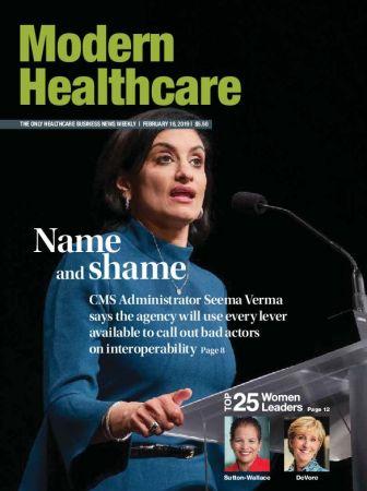 Modern Healthcare – February 18, 2019