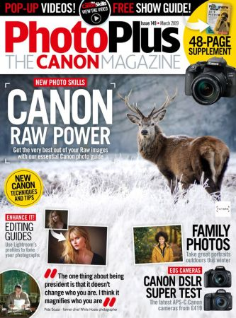 PhotoPlus: The Canon Magazine – March 2019