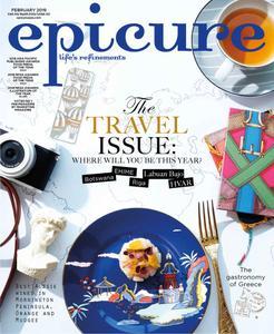 epicure Singapore – February 2019