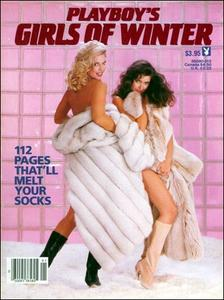 Playboy's Girls Of Winter – First Edition (1984)