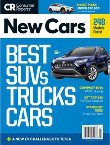 Consumer Reports New Cars - July 2019