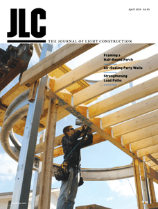 The Journal of Light Construction – April 2019