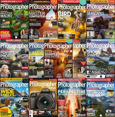 Digital Photographer – Full Year 2019 Issues Collection