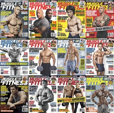Muscle & Fitness USA – 2019 Full Year Issues Collection