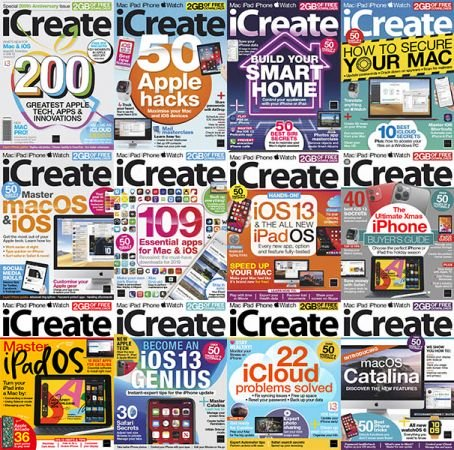 iCreate UK – 2019 Full Year Issues Collection