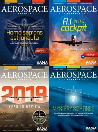 Aerospace America – 2019 Full Year Issues Collection