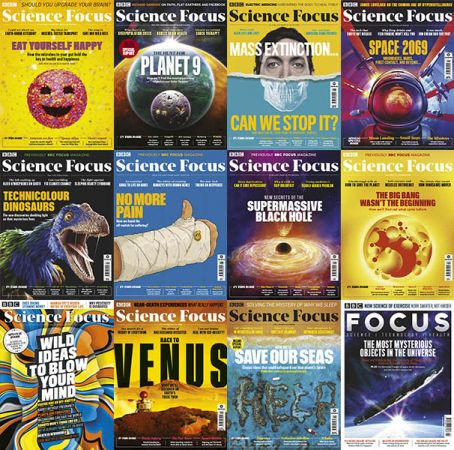 BBC Focus – 2019 Full Year Issues Collection