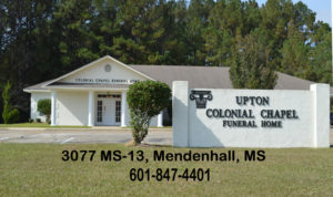 Colonial Chapel Funeral Home Mendenhall, MS