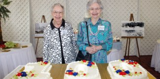 The Boswell sisters were able to attend the 100th anniversary of Boswell Regional Center