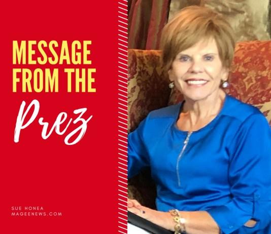 Sue Honea | Message from the Prez | MageeNews.com