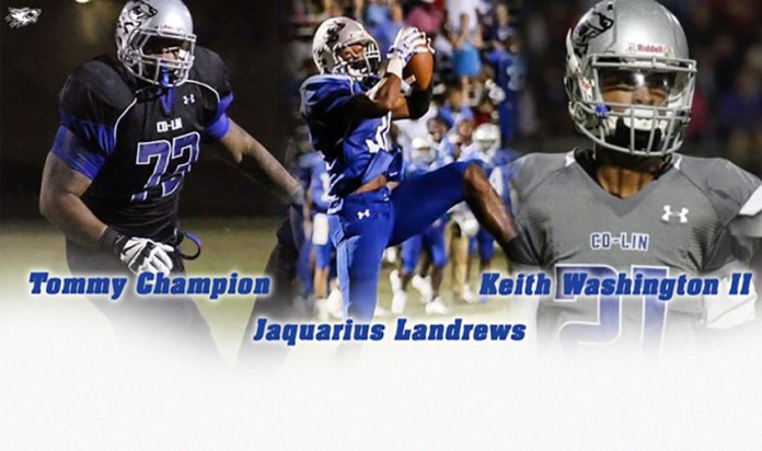Co-lin former players drafted