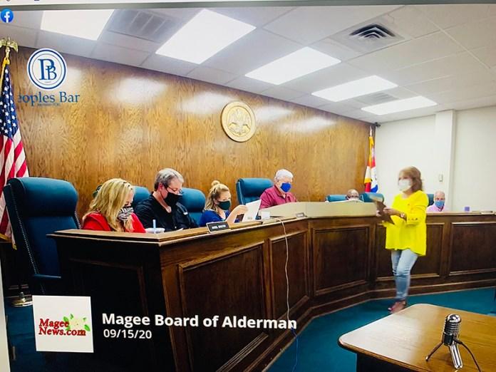 City of Magee Board of Aldermen