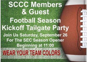 SCCC KICKOFF TAILGATE PARTY