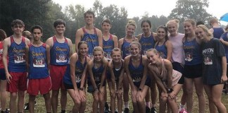 SCA Cross Country Team