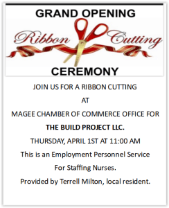 Ribbon Cutting for The Build Project LLC
