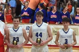 Congratulations to Sam, Hayden, & Ethan All South State Team