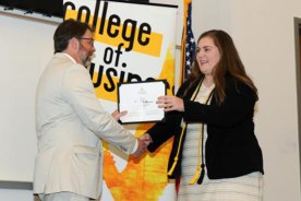 Southern Miss College of Business Hands Out Awards to Students,…