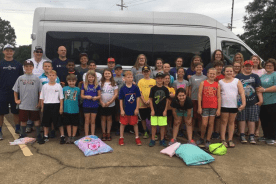 FBC kids are off to camp!
