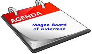 Magee Board of Alderman Meeting