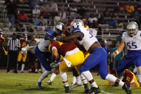 Co-Lin Unable to Overcome JCJC Rushing Attack in 35-10 loss