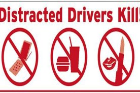 Distracted driving – not something to be thankful for this…