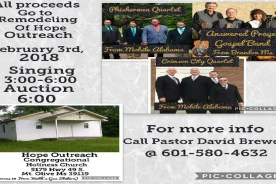 Hope Outreach Benefit
