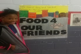MMS Holding Food Drive for Animals