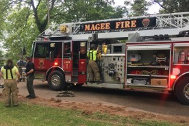 Two Fires in Magee Saturday