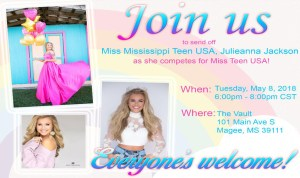 Miss Teen USA Send Off Party
