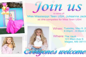 Send Off Party for Miss Teen USA