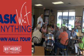 """""""Ask Whit Anything"""" – Town Hall Tour"""