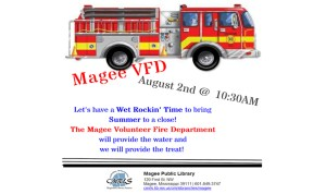 Magee VFD at the Library