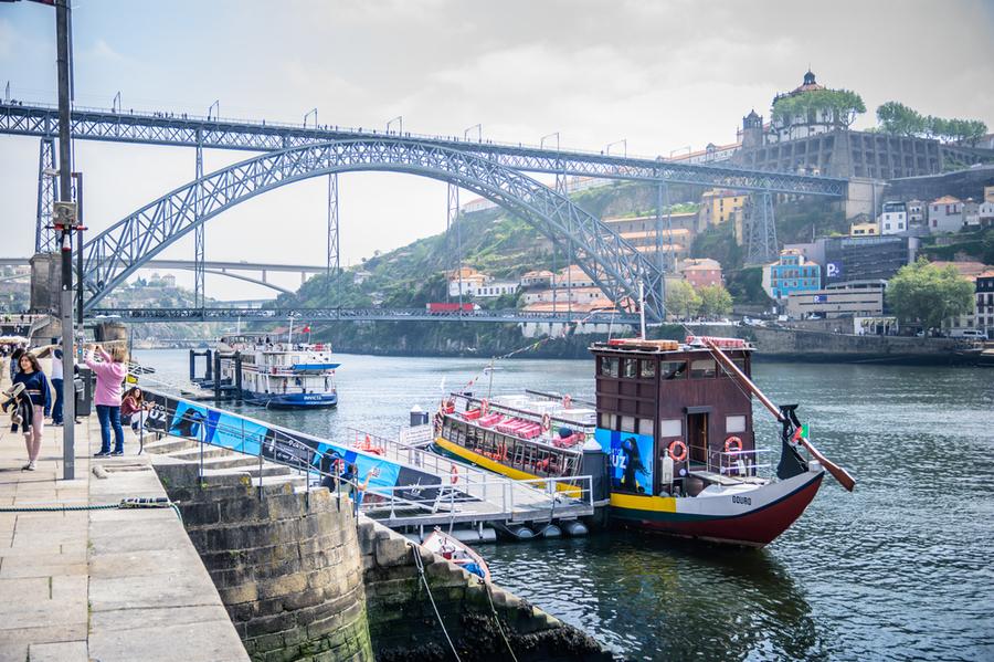 Ponte Dom Luis I, Порто, Португалия