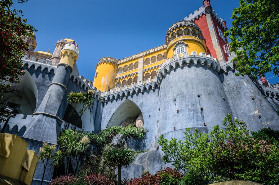 Замъкът Pena, Синтра, Португалия