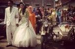 Bride Groom Vintage Ariel Motorcycle Magelang Photos