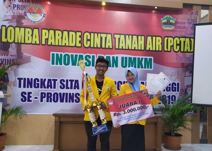 Juara Lomba Cinta Tanah Air Untidar