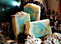 Handcrafted soap by Magellan's Gift™ ~ lime rosemary scent.