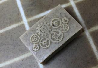 Plain Steam-punk soap