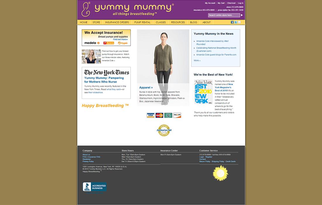 yummy mummy magento integration service