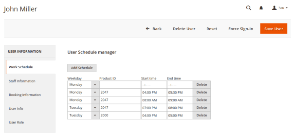 magento 2 booking extension