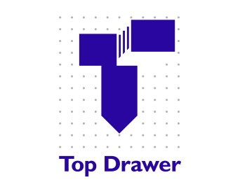 Top Drawer logo. Office furniture repairs, maintenance and retailer. Brands for New Zealand businesses, Christchurch.