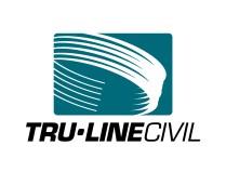 Tru-Line Civil Logo. Brands for New Zealand companies, Greymouth, New Zealand.