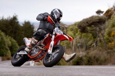 Bluff Hill, Bluff HIll Climb, Burt Munro Challenge, KTM EXC 500, Motupohue, New Zealand, NZ Hill Climb Champs, Rider 565, Royden West, Up to 600cc, 0 year Anniversary event, Thursday 26 November 2016