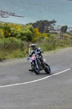 Bluff HIll Climb, Burt Munro Challenge, Lee Harrison, Motupohue, New Zealand, NZ Hill Climb Champs, Rider 979, Up to 600cc, Yamaha YZF 450, 10 year Anniversary event, Thursday 26 November 2016