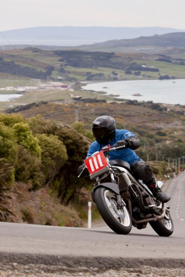 Bluff HIll Climb, Honda VFR 700, New Zealand, NZ Hill Climb Champs, Ricky Stewart, Rider 111