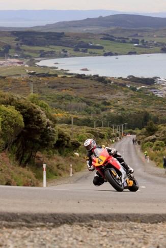 Alex Phillis, Bluff HIll Climb, Burt Munro Challenge, Flagstaff Road, Motupohue, MV Agusta 675, New Zealand, NZ Hill Climb Champs, Open Class, Rider A