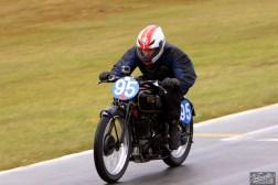 Burt Munro Challenge, Classic Pre '63 with Girder Forks, KTT 350, KTT MK IV, Neville Mickleson, Rider 95, Teretonga Circuit races, Velocette