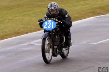 Burt Munro Challenge, Classic Pre '63 with Girder Forks, Cloud Craig-Smith, KTT MK VIII, Rider 231, Teretonga Circuit races, Velocette